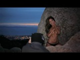 Playboy Playmate_ Jessica Burciaga Behind the scenes shoot w Charlie Langell