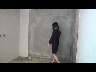 WETLOOK SOAKED WOMAN ~Fetish in suit~ Rain-02 sample